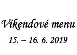 Vikendove menu 15.-16.06. banner